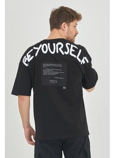 XHAN Yeşil Erkek T-Shirt 1Kxe1-44793-08 Siyah